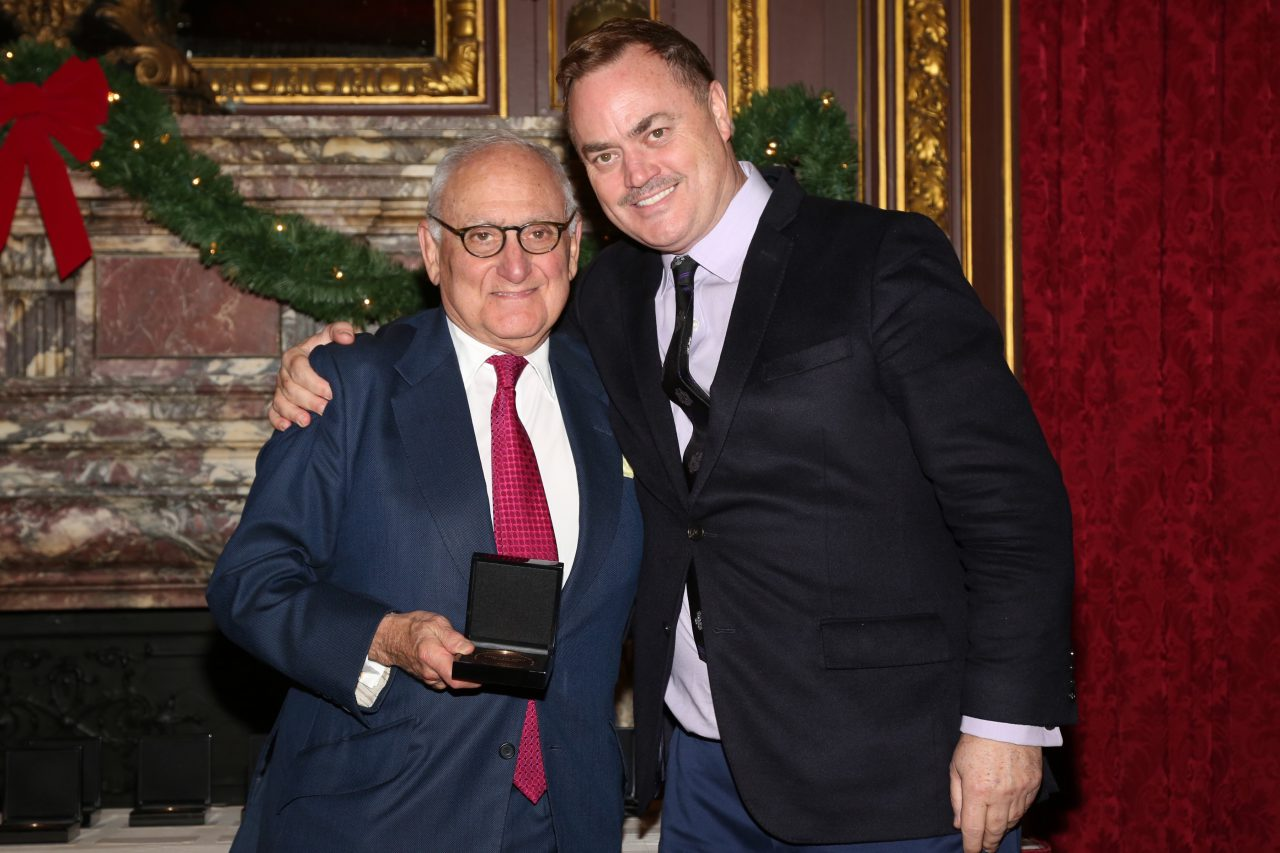 Robert A.M. Stern with ICAA President Peter Lyden