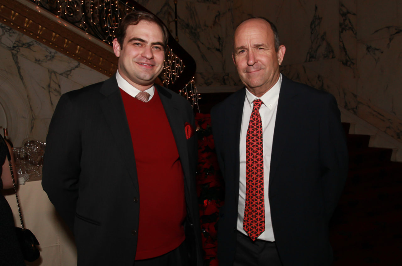 Stanford White Awards Co-Chair and ICAA Board Member Clay Hayles and Jeff Shelton