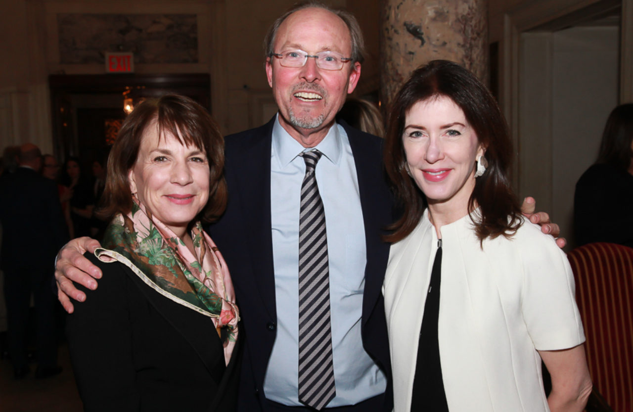 Janice Parker, ICAA Board Member John B. Murray, and ICAA Board Member Barbara Eberlein