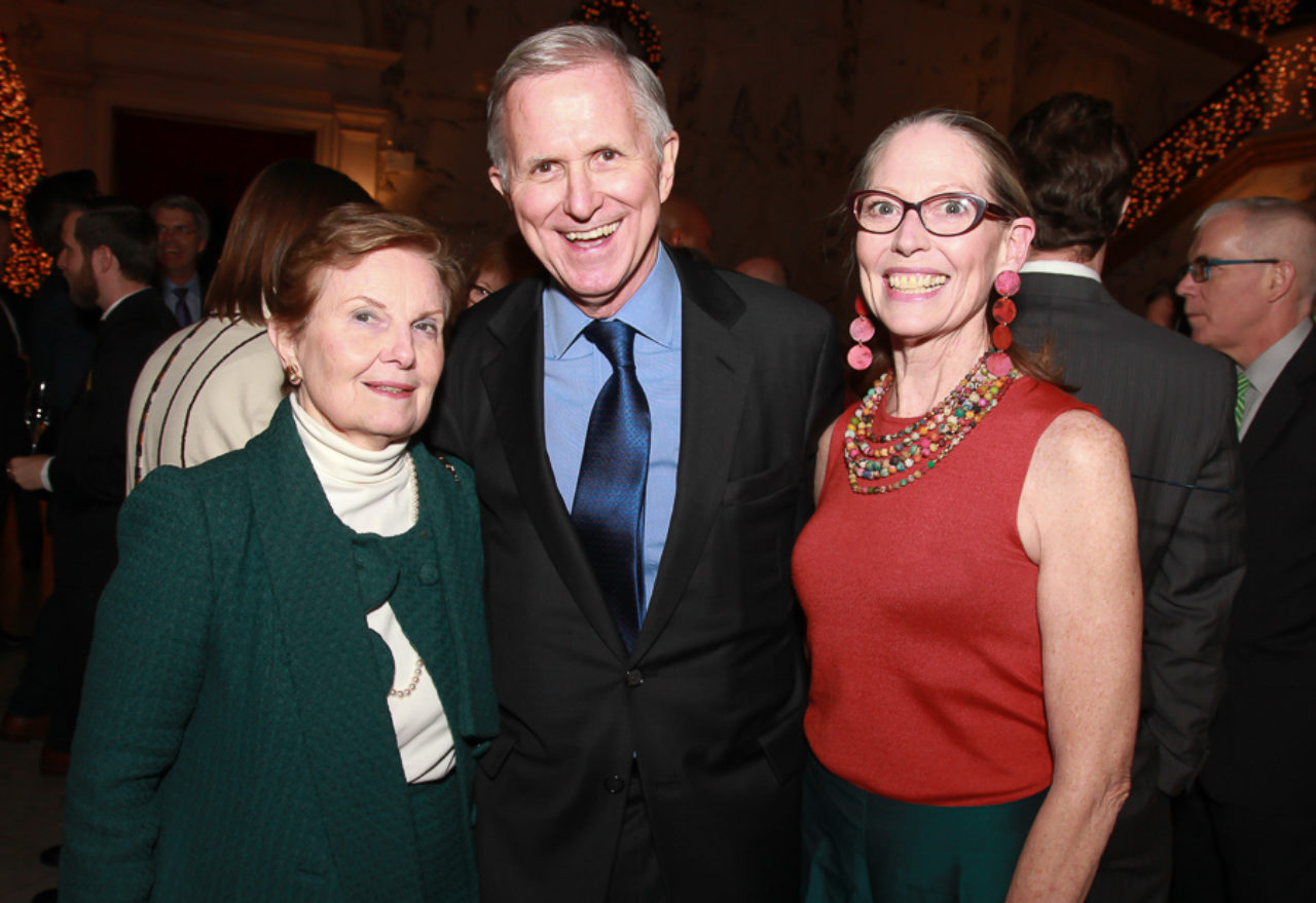 Janet Ross, Sam White, and Clifford Harvard