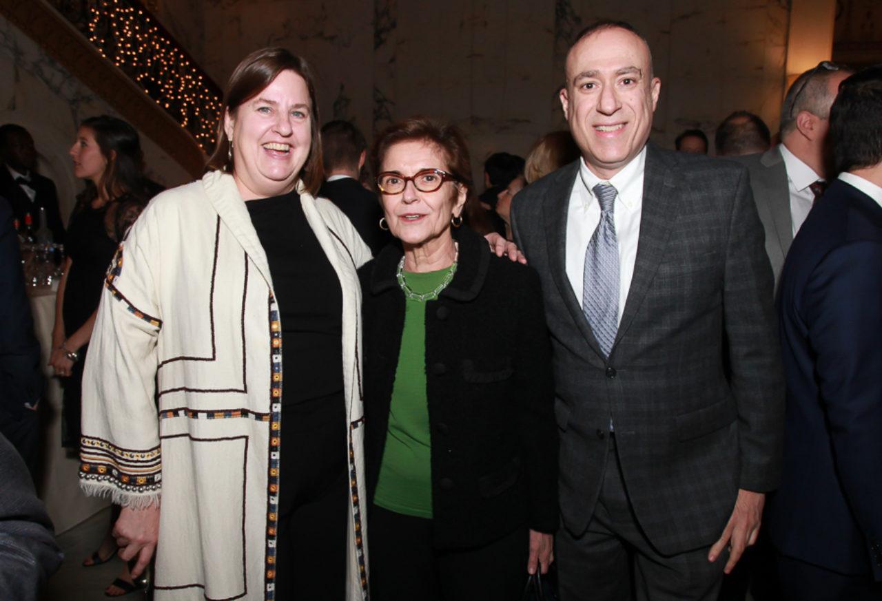 2018 Stanford White Awards Co-Chair Alice Kriz, Pilar Viladas, and Peter Morris Dixon