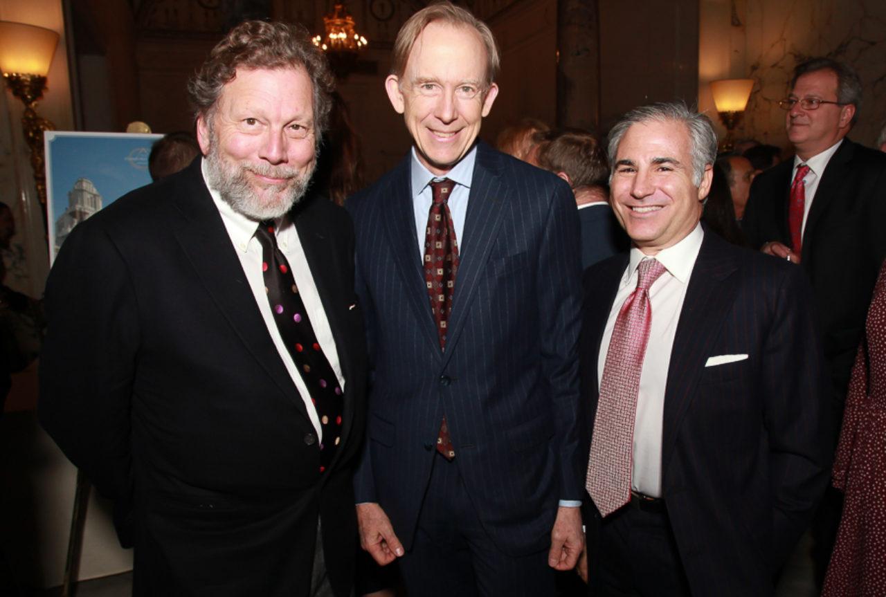 Durston Saylor, ICAA Board Member Mark Ferguson, and Nicholas Stern