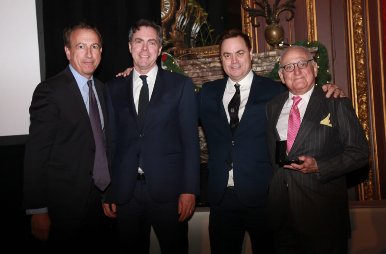 Kevin Smith, Alex Lamis, ICAA President Peter Lyden, and Robert A.M. Stern