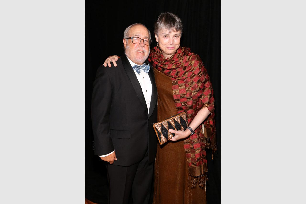 2021 Arthur Ross Awards Honoree Edmund Hollander and Wendy Powers
