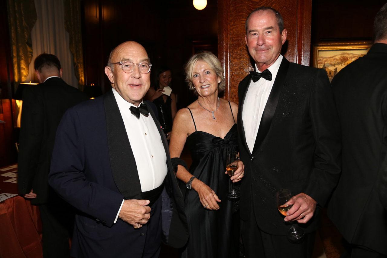 ICAA Board Member Kirk Henckels, Linda Stabler Talty, and ICAA Board Member Peter Talty