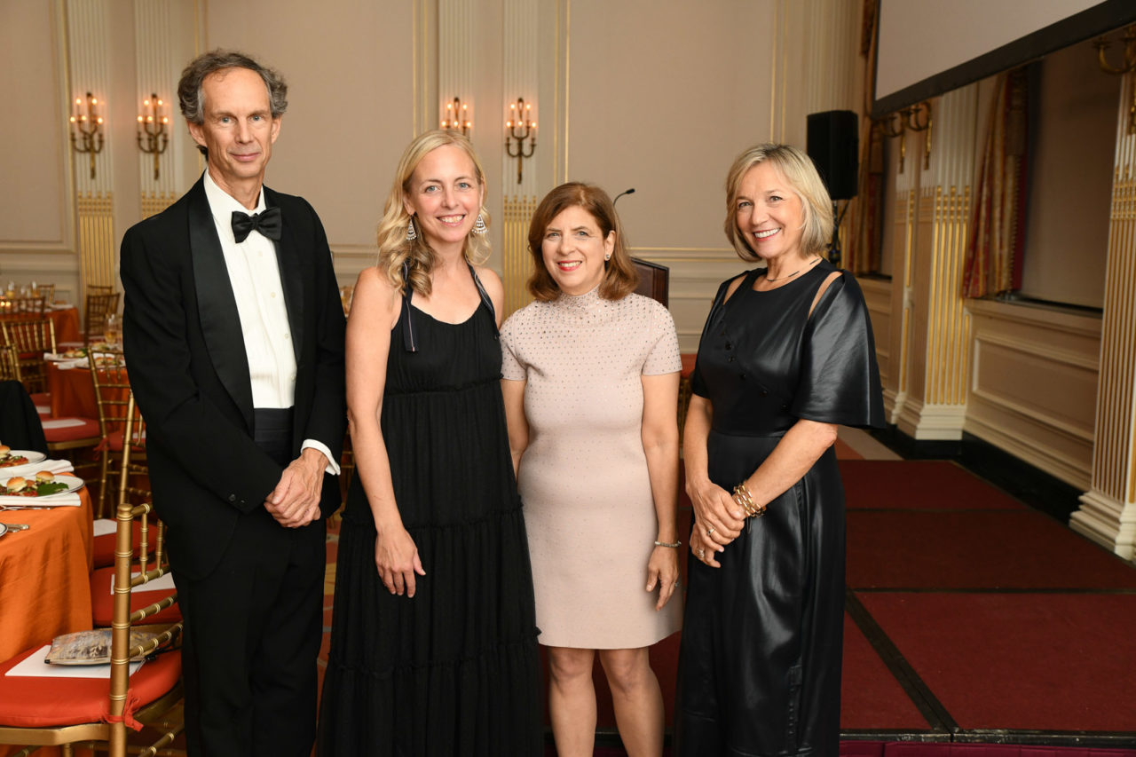 2021 Arthur Ross Awards Honoree Charles Miers, Kathleen Jayes, Sandy Gilbert, and Jill Cohen