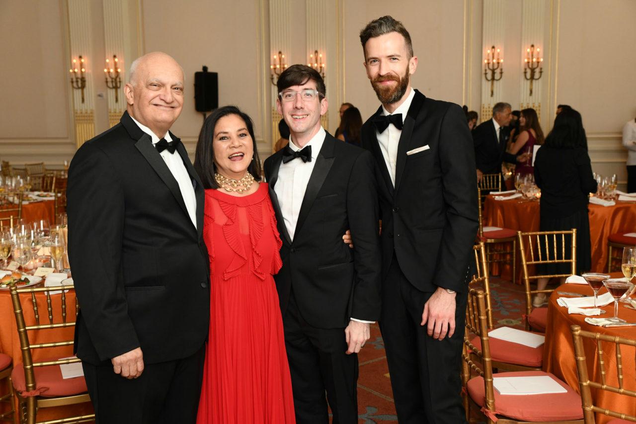 2021 Arthur Ross Awards Honoree Michael Lykoudis, Theresa Lykoudis, David Stone, and Jim Coyle