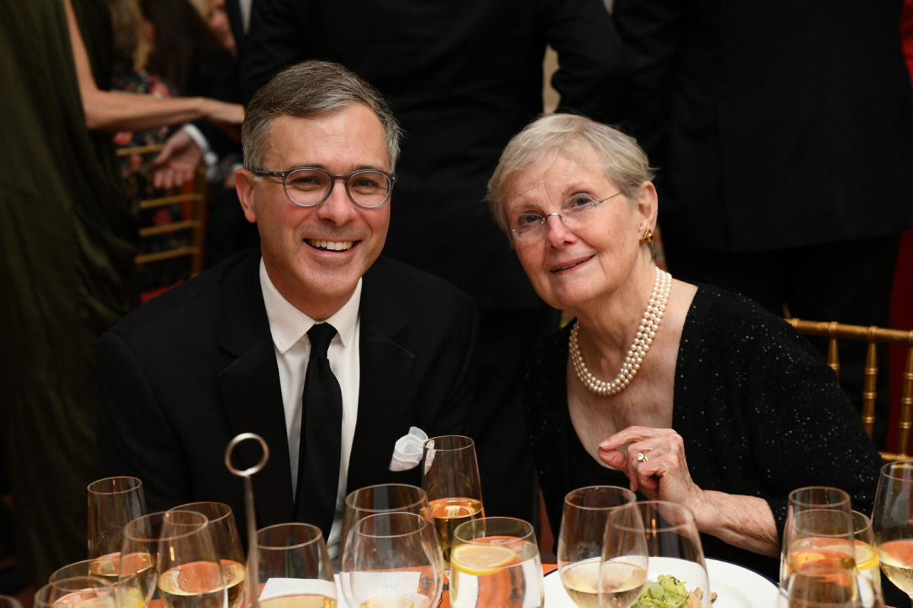 ICAA Board Member Eric Osth and Janet C. Ross