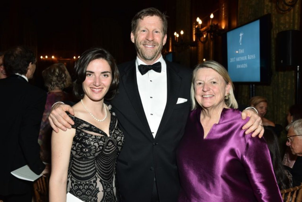 Emily Bedard, ICAA Board Member Phillip Liederbach, and Nancy Power