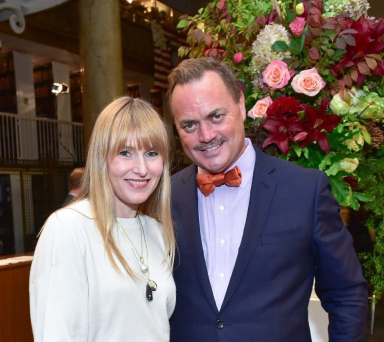 Architectural Digest Editor in Chief Amy Astley with ICAA President Peter Lyden