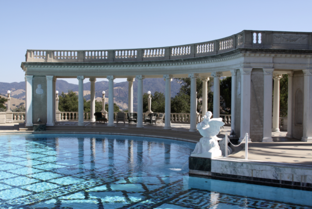 The 1936 Neptune Pool at Hearst Castle designed by Julia Morgan