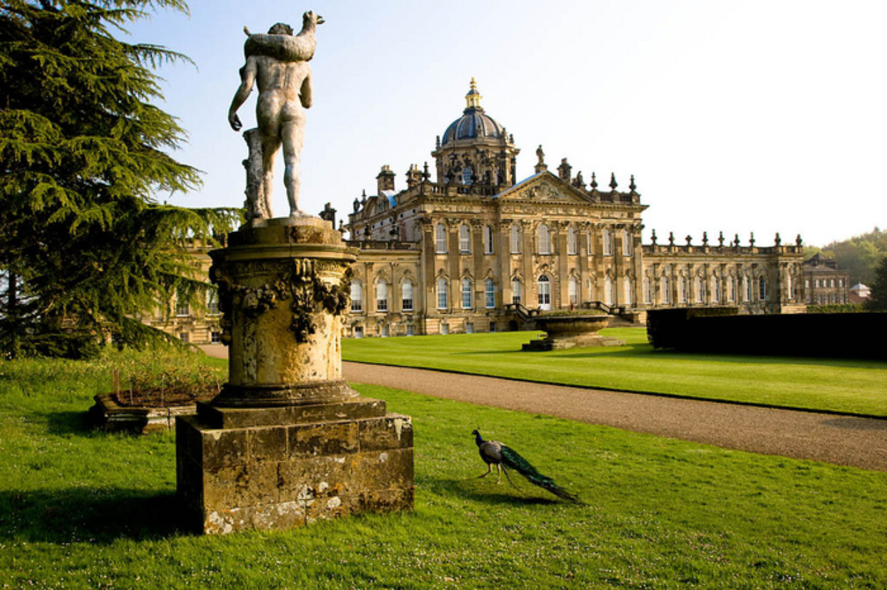 Castle Howard, featured in Brideshead Revisited (1981)