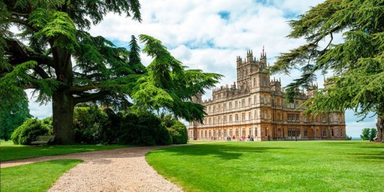 Landscape surrounding Highclere Castle, the setting for Downton Abbey (2010 – 2015)