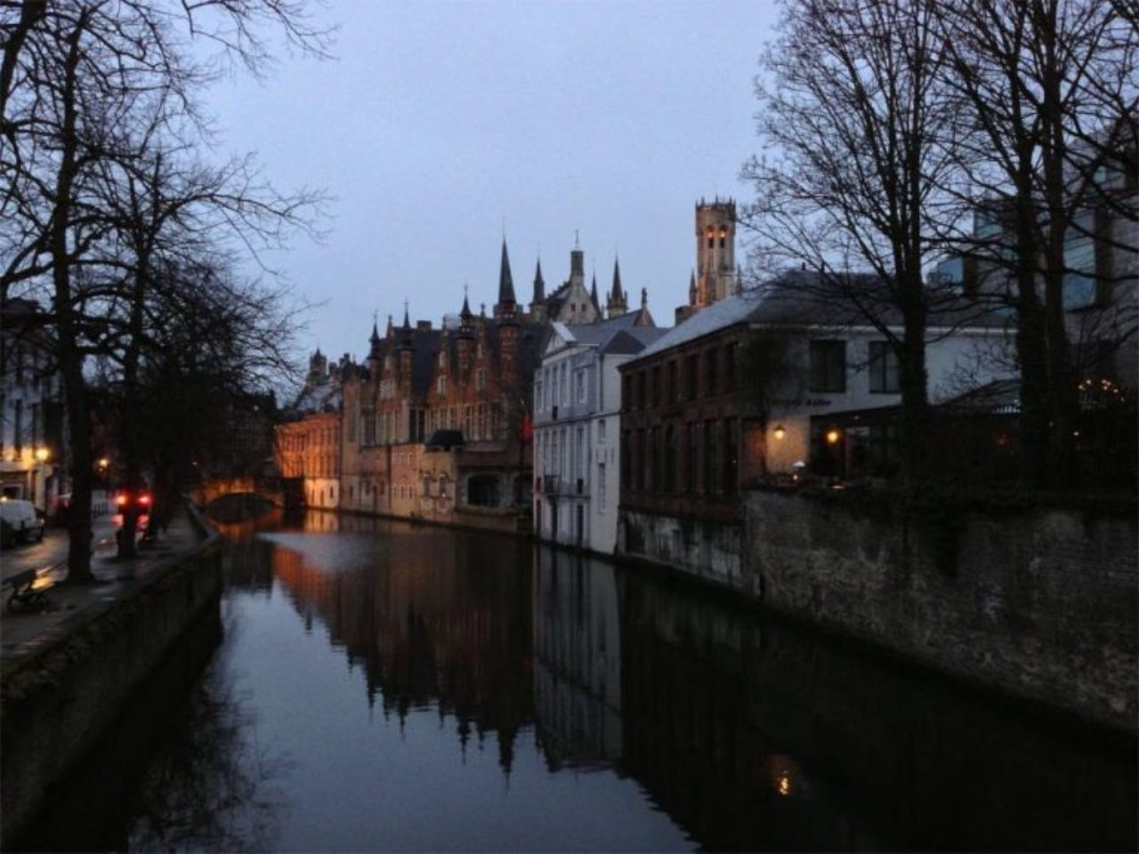 Photo of Bruges, Belgium by Kellen Krause (setting of the 2008 film In Bruges)