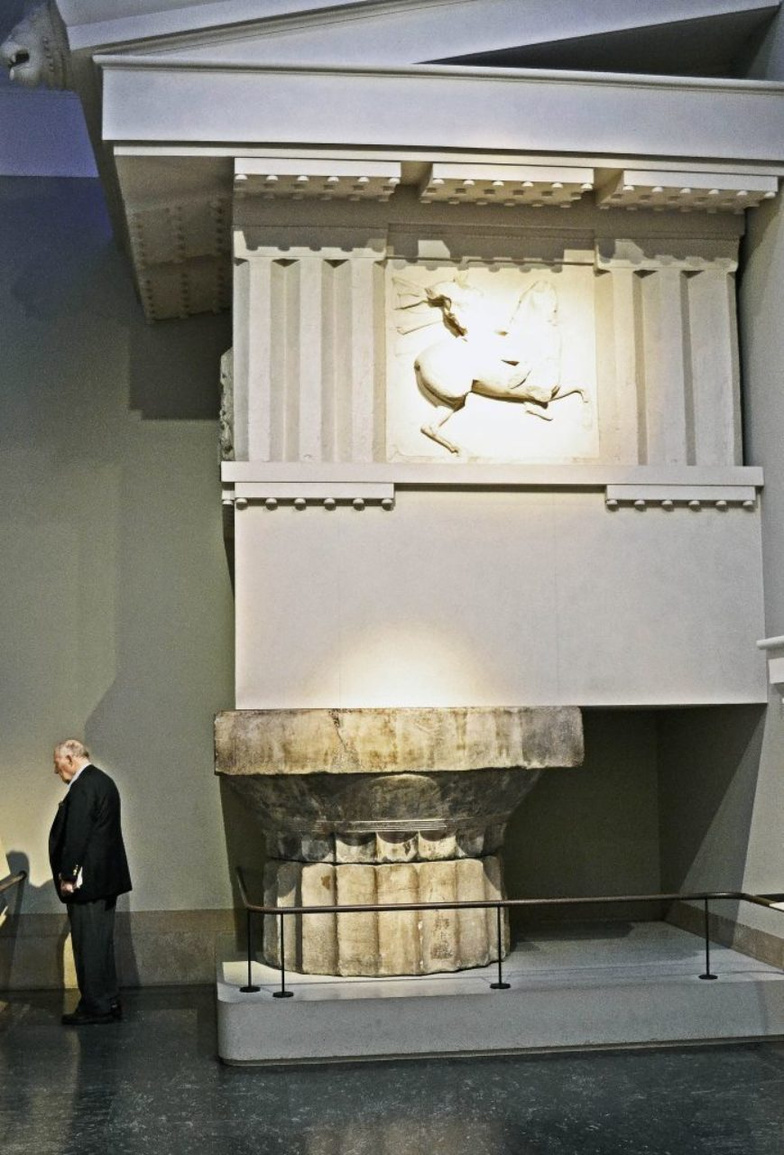 Figure 3: Parthenon capital and column drum
