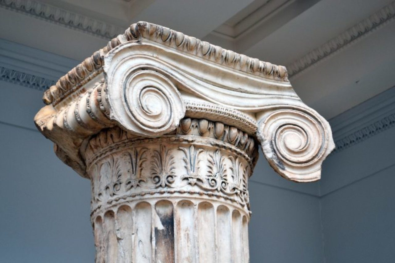 greek architectural treasures in the british museum institute of