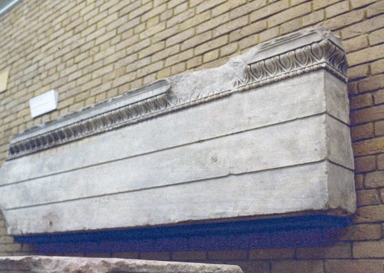 Figure 13: Erechtheion, architrave fragment