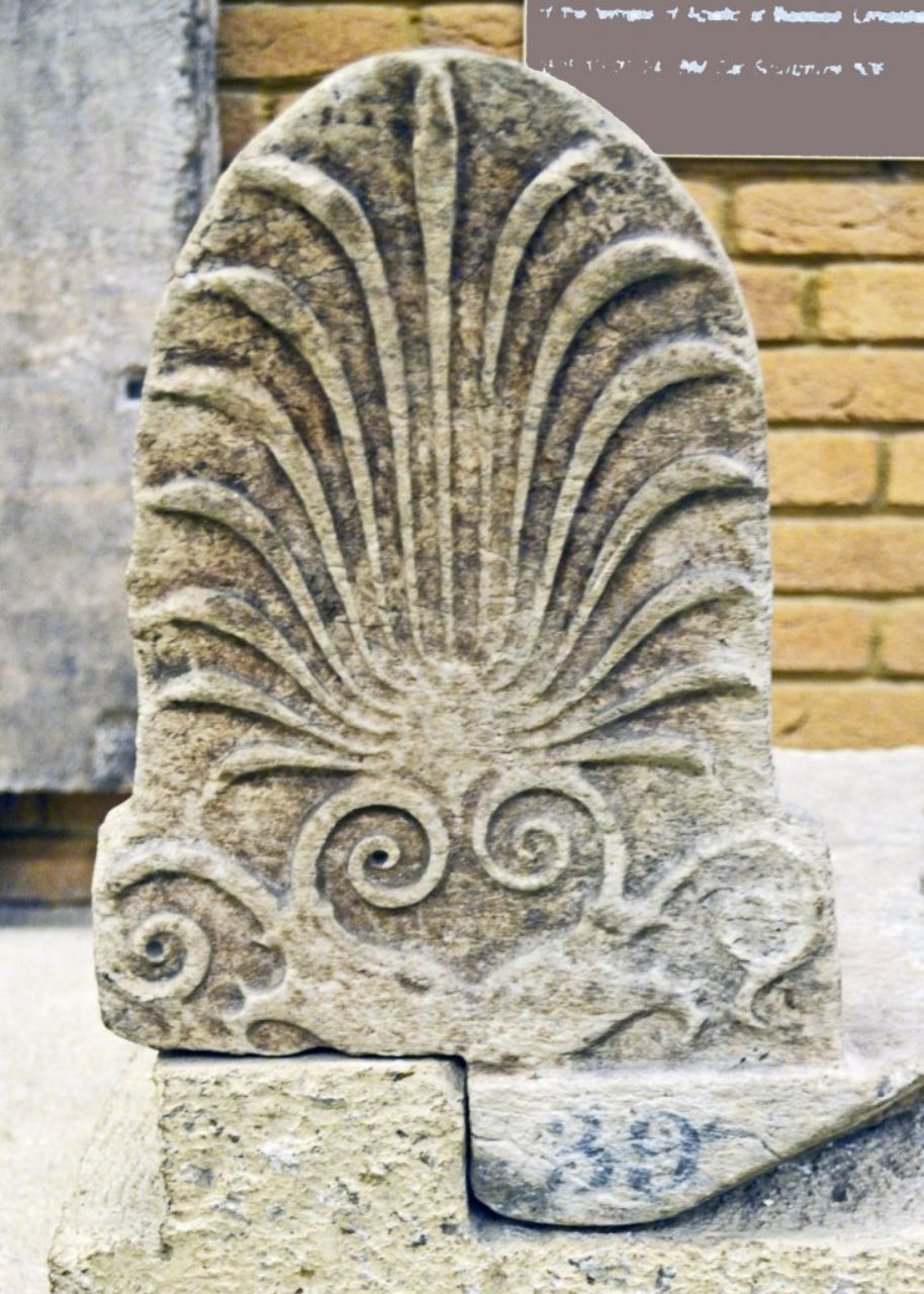 Figure 18: Temple of Apollo Epicurius, antefix