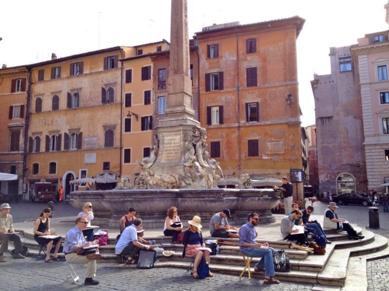 The next Christopher H. Browne Rome Drawing Tour will take place June 3-10