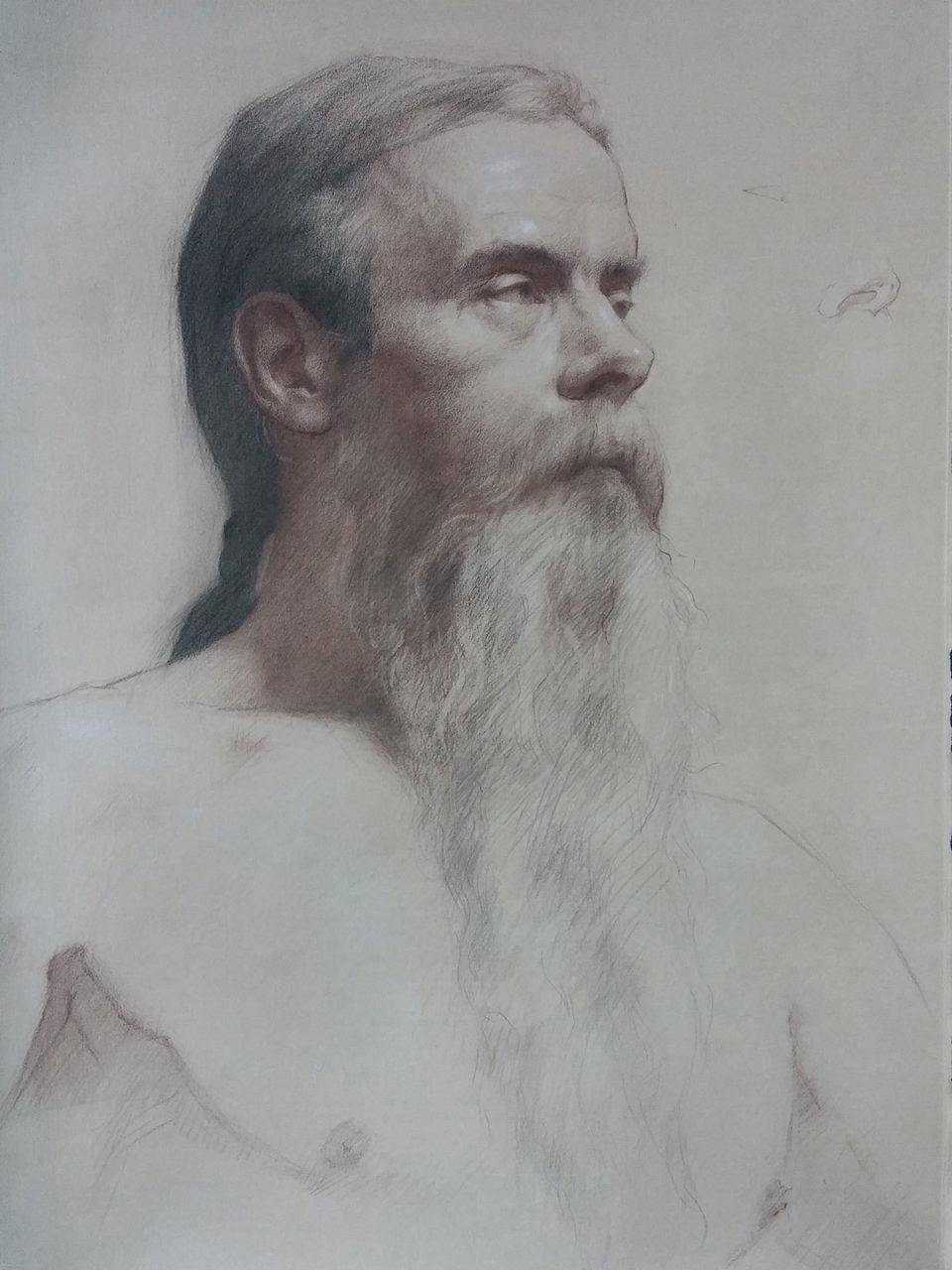 Portrait of Pat, Jon Brogie