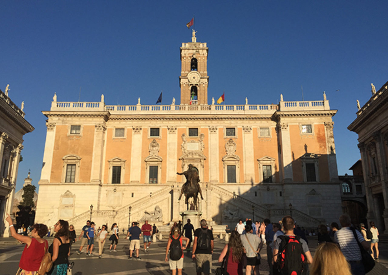 The Campidoglio in Rome