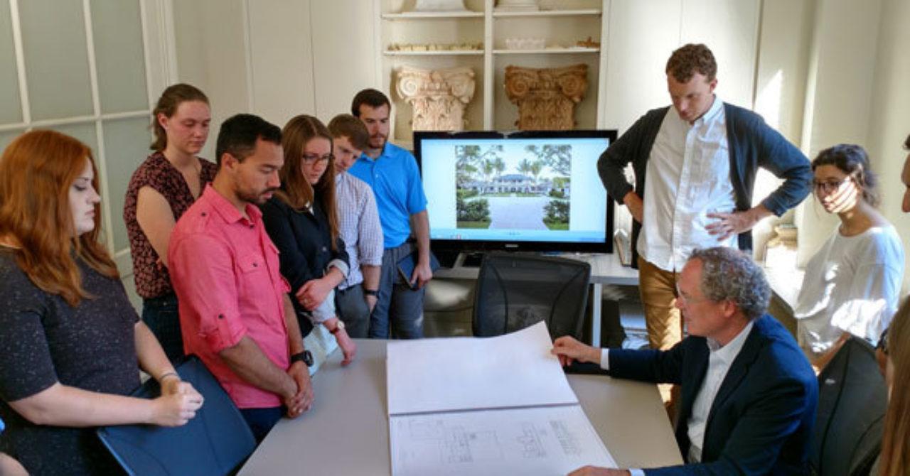 Students visit Ferguson & Shamamian Architects