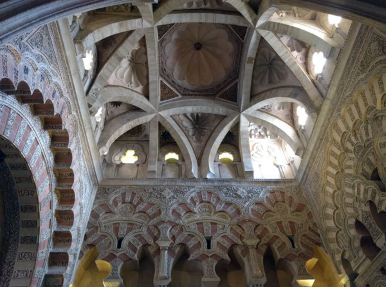The interior of La Mezquita de Córdoba, Spain