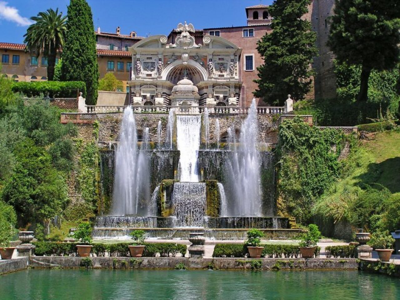 Fountain of Neptune, Villa d'Este