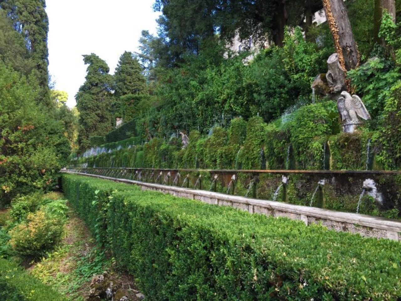 The Hundred Fountains, Villa d'Este