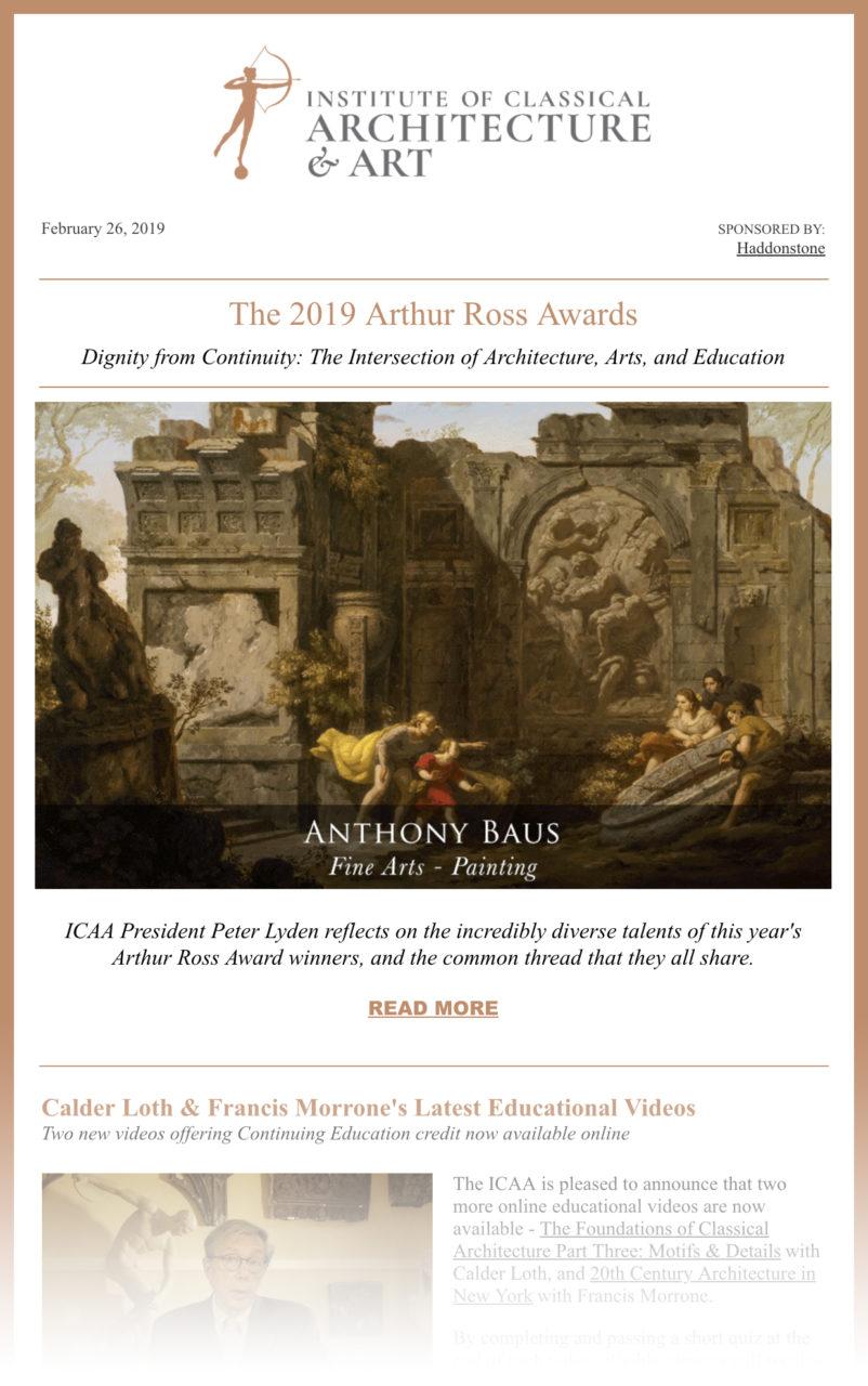 ICAA Newsletter - February 2019