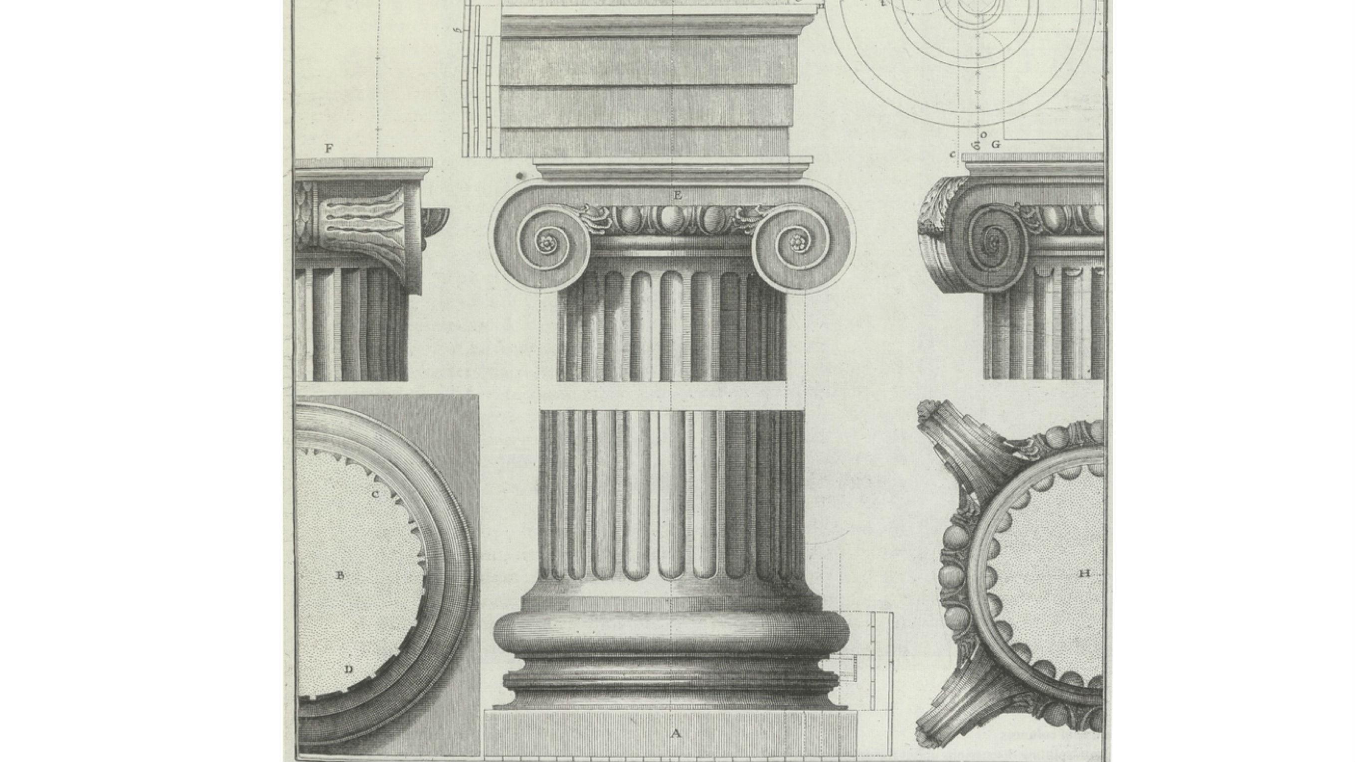 ionic order buildings