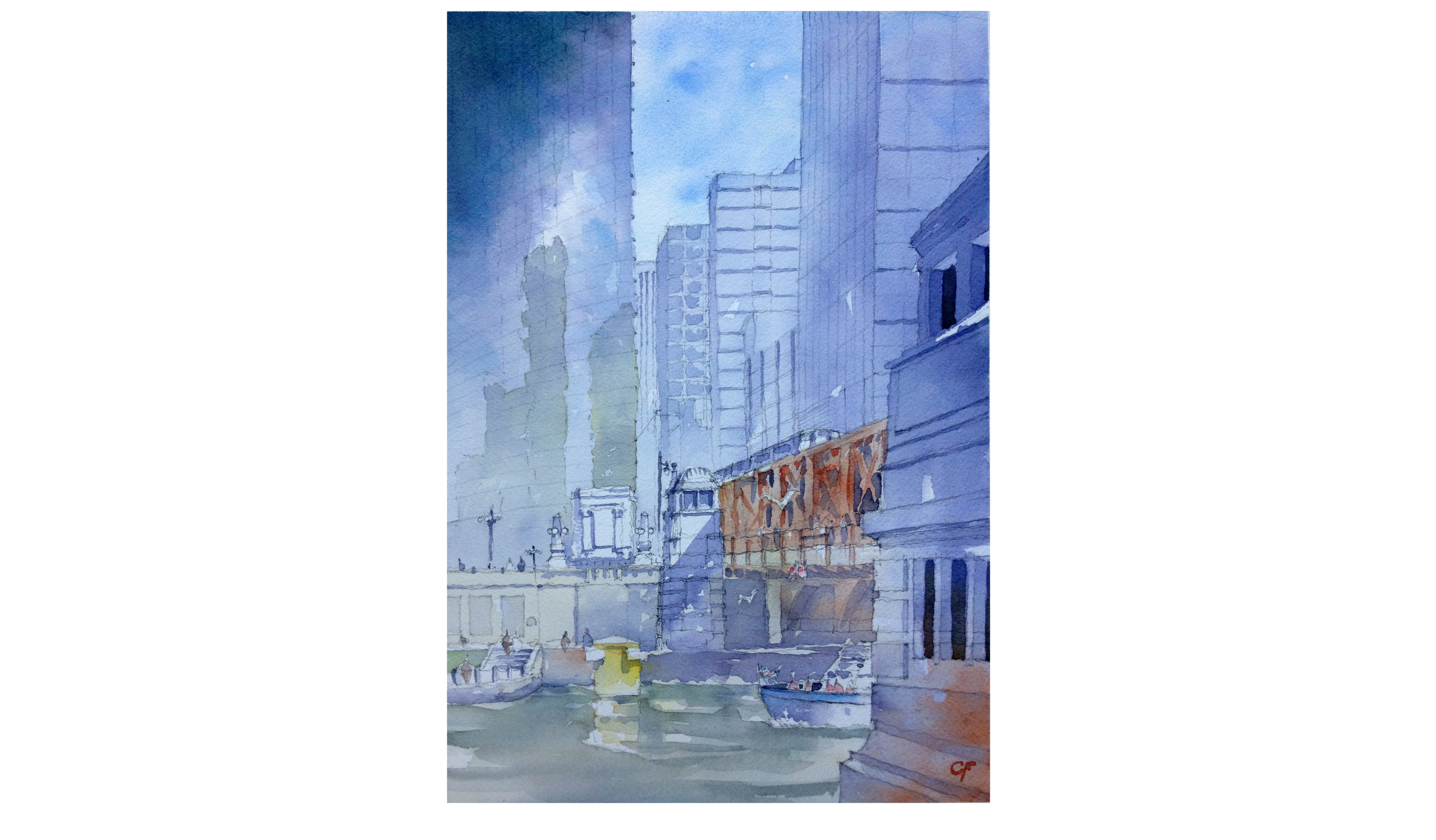 Introduction to Architectural Watercolor Painting