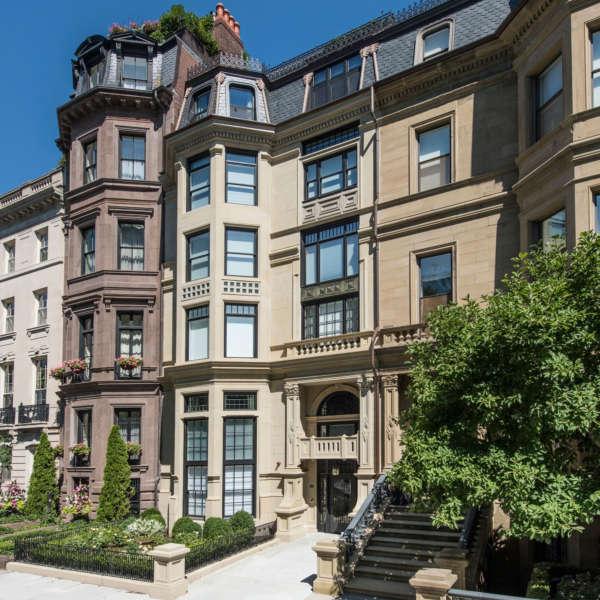 """9 Commonwealth Avenue Boston"" – Meyer Meyer Inc  Architecture And Interiors Photo By Peter Vanderwarker"