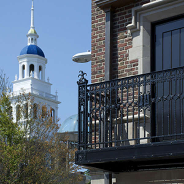 """ Balcony Railing For Harvard Lampoon"" Hammersmith Studios"