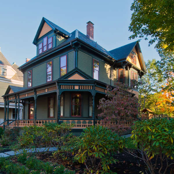 """ Queen Anne Victorian"" Frank Shirley Architects"
