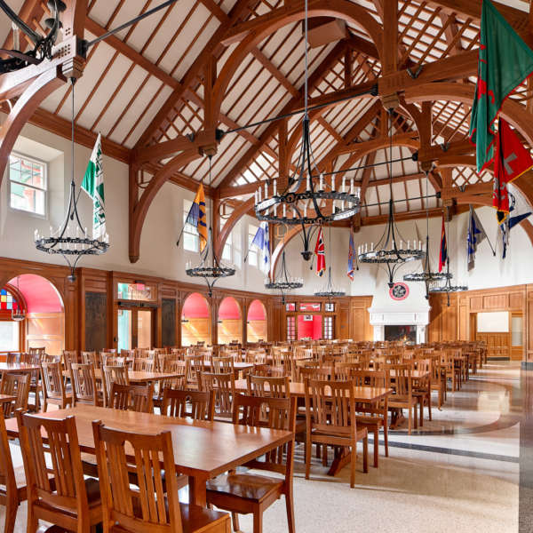 Commercial Civic And Institutional Architecture Voith Mactavish Architects Boarding School Dining Hall 7