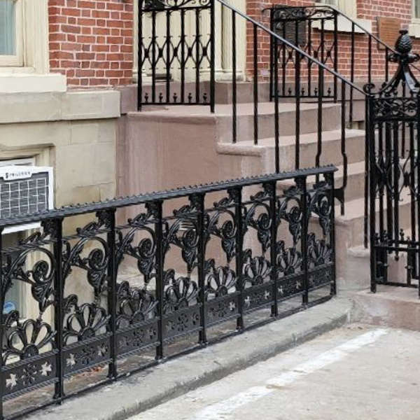 Craftsmanship And Artisanship Spirit Ironworks Inc  Federal Style Ironwork On The Lower East Side A Loving Restoration 4