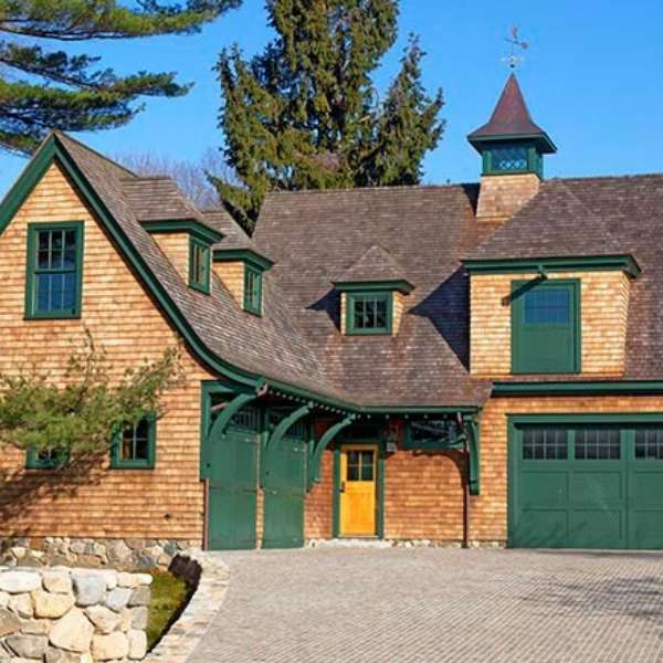 Frank Shirley Shingle Style Carriage House