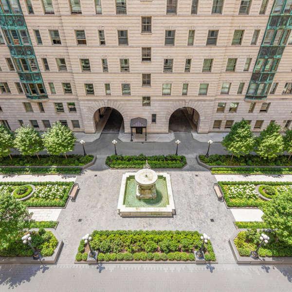 Landscape Design  Hollander Design Landscape Architects The Belnord Courtyard 9