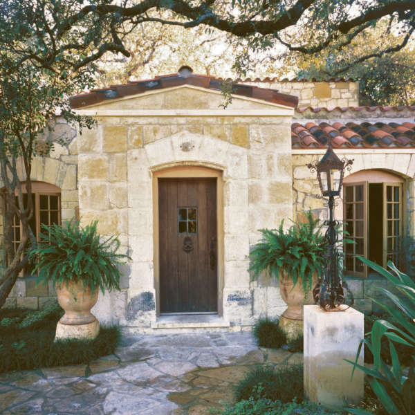 San Antonio Stone Cottage Don B  Mc Donald Architect Addition Renovation