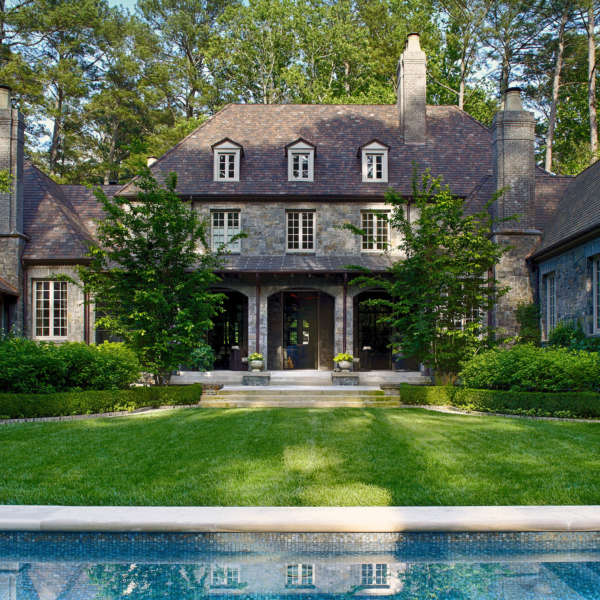 William B  Litchfield Residential Designs Northern French Manor Atlanta Georgia