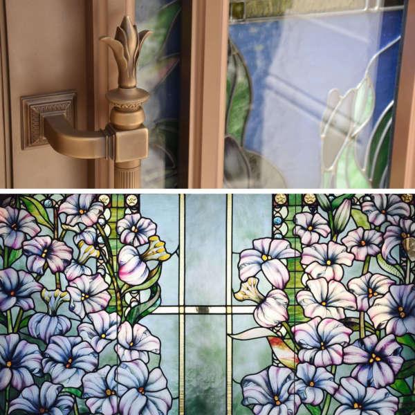 Acanthus 2017 Allied Paris Lds Temple Art Glass Exterior Doors