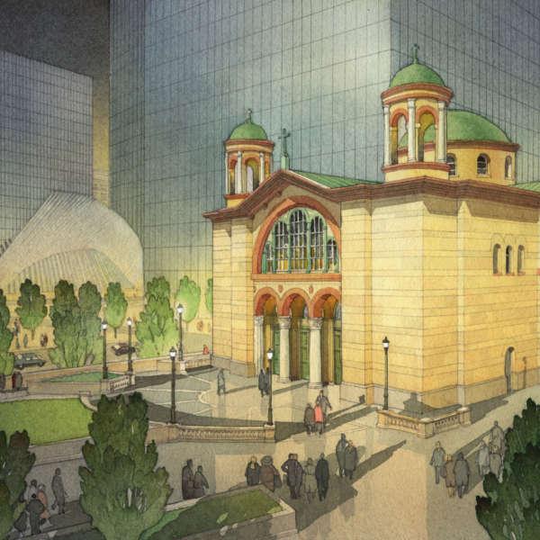 Acanthus 2017 Unbuilt Duncan G  Stroik Architect Llc