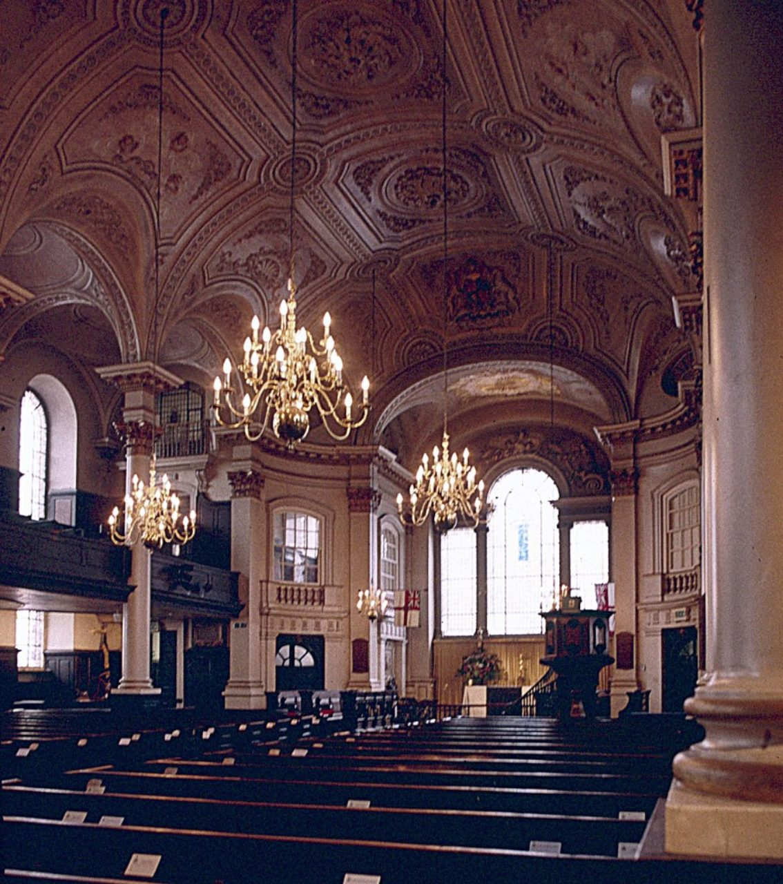 St. Martin-in-the-Fields, interior