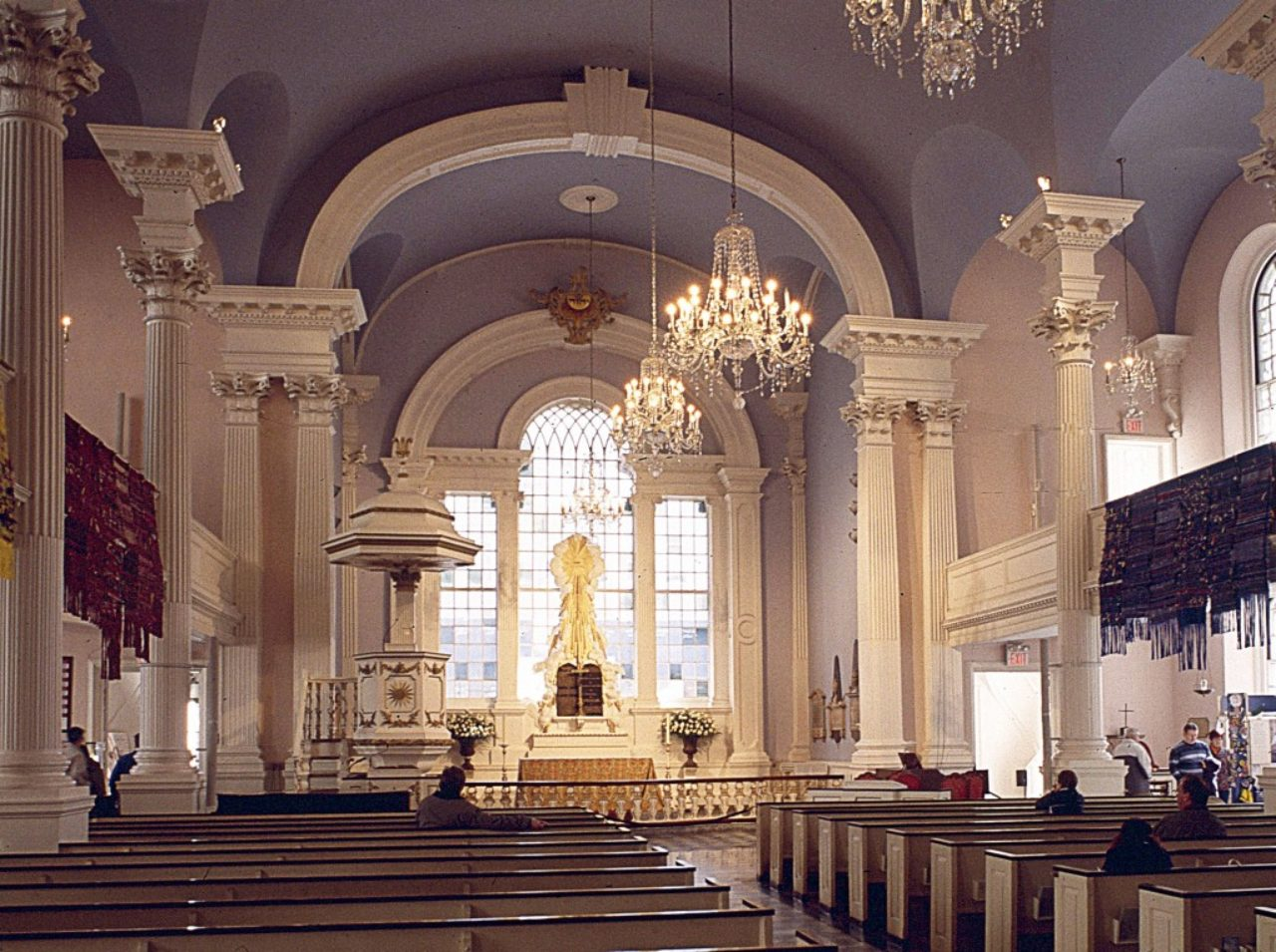 St. Paul's Chapel, interior, New York City
