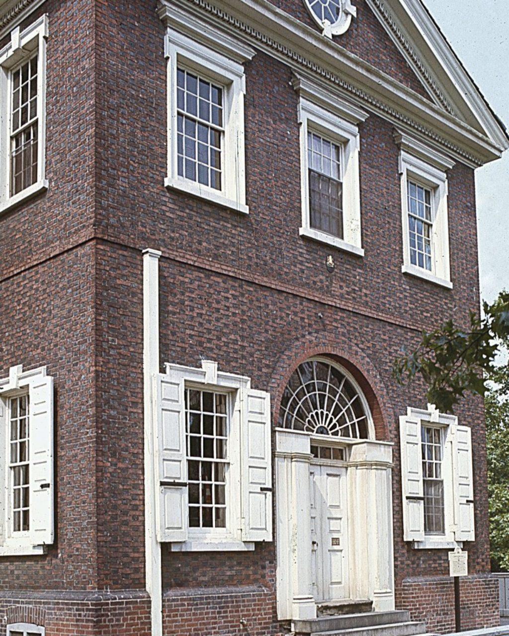 Figure 12: Carpenters' Hall, Philadelphia (Loth)