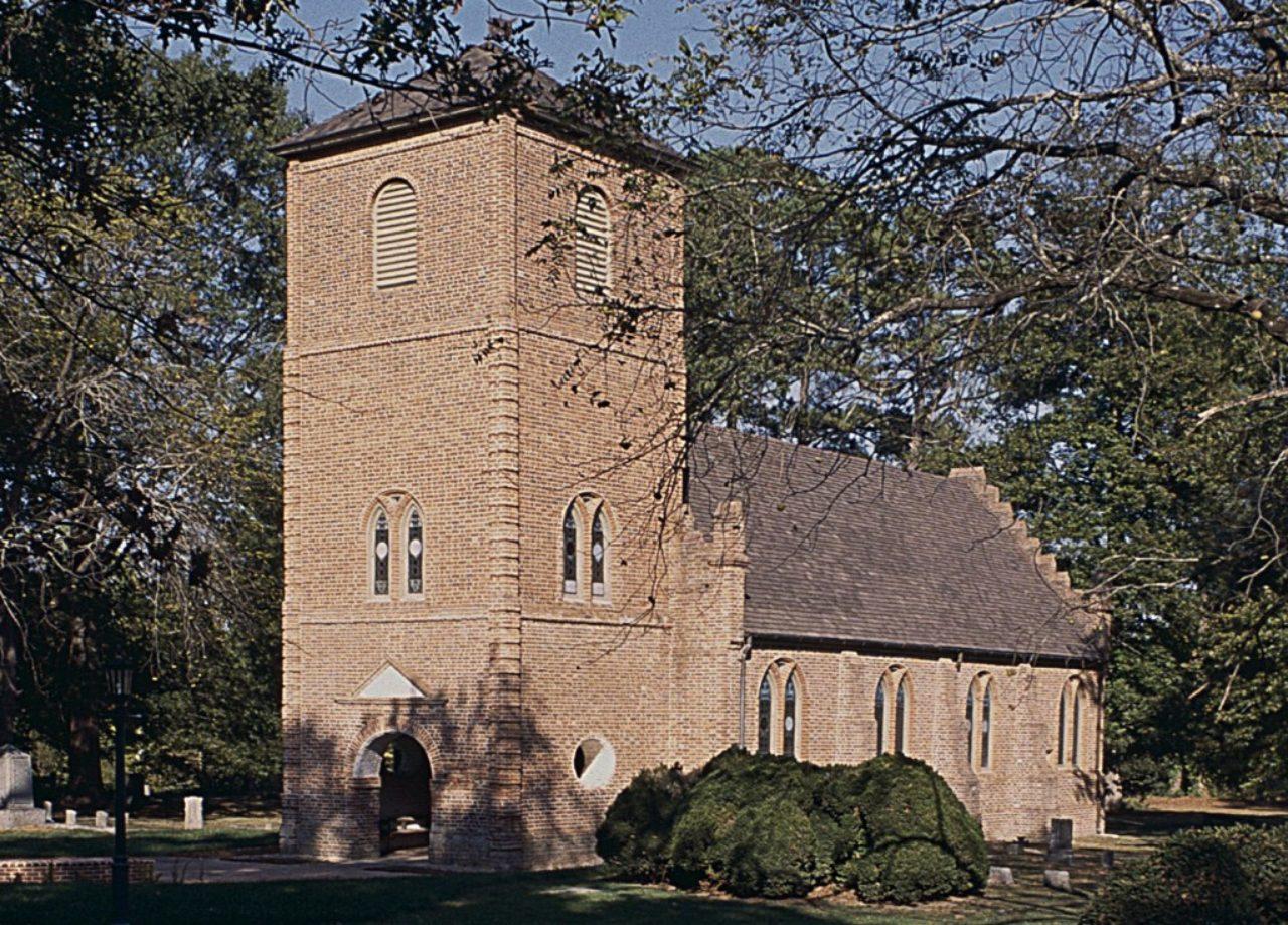 Figure 4: St. Luke's Church, Isle of Wight County, Virginia (Loth)