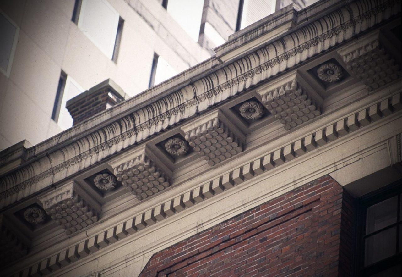 Figure 16, Cornice, 14 W. 56th Street, New York City (Loth)