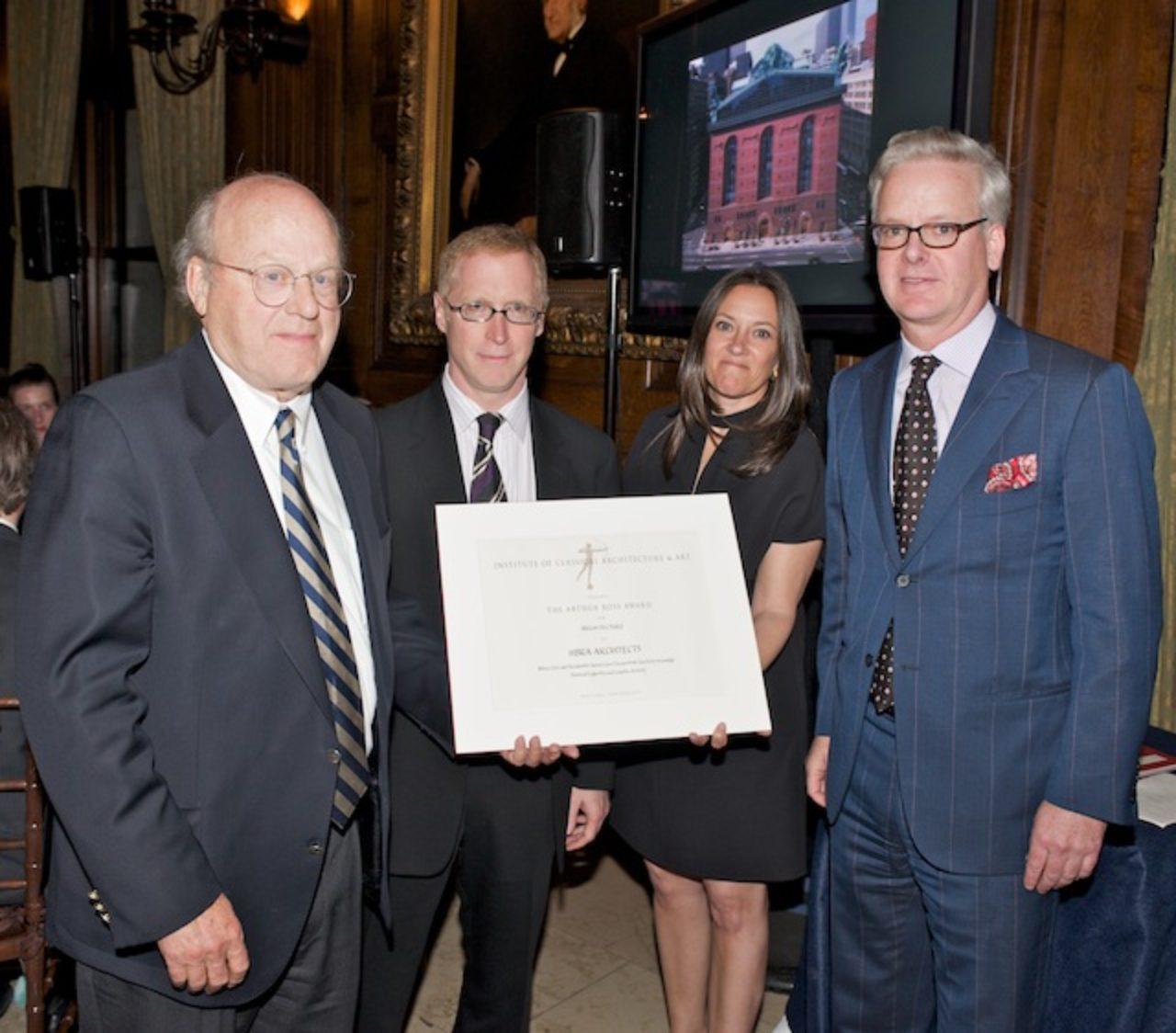 HBRA Arthur Ross Award