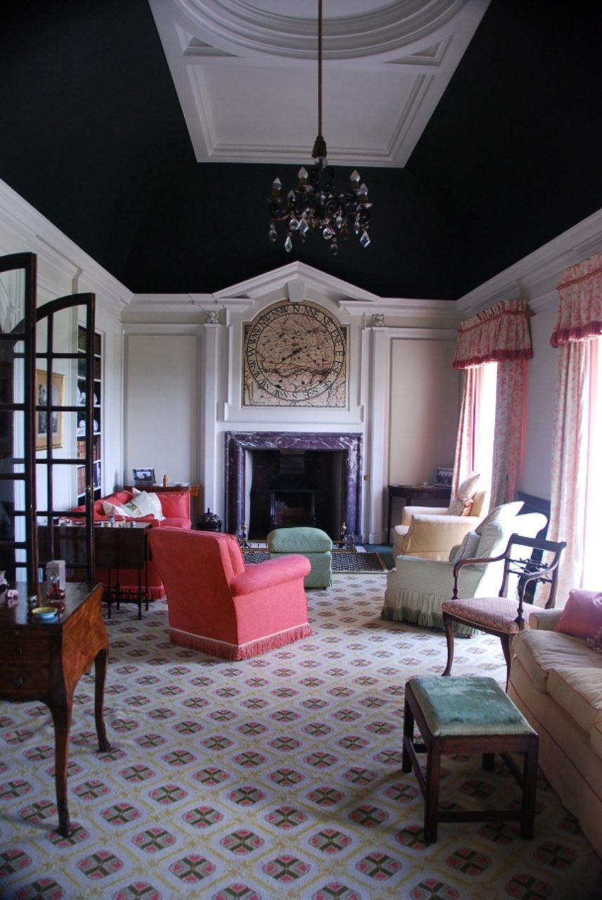 Whalton Manor Drawing Room by John Fowler
